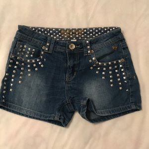 Justice Jean shorts- tween size! 14R